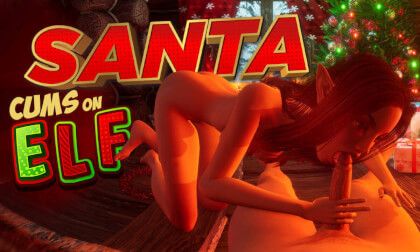 VR Porn Santa Cums On Elf