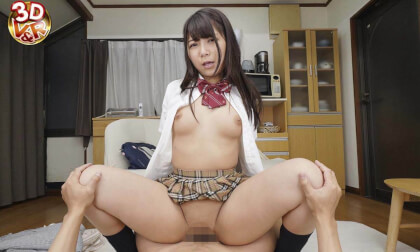 VR Porn Haruka Takami – I Want Your Baby! Your Wife In a Schoolgirl Uniform
