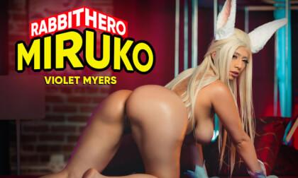 VR Porn Rabbit Hero Miruko