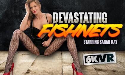 VR Porn Devastating Fishnets