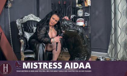 VR Porn Mistress Aidaa - Full Body Mummification