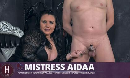 VR Porn Mistress Aidaa - Chastise ME!
