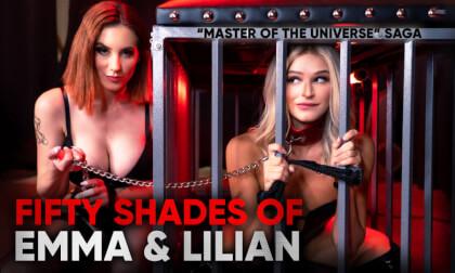 VR Porn Fifty Shades of Emma & Lilian