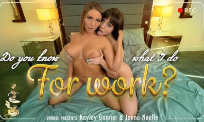 VR Porn Do You Know What I Do For Work?