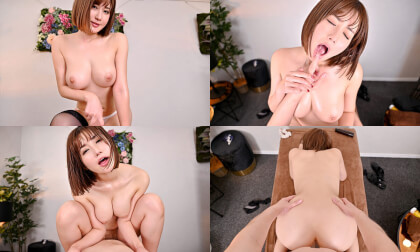 VR Porn Riho Fujimori – Tempted by the Super-Nasty G-Cup Masseuse