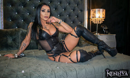 VR Porn Mistress Kennya - Addicted And Horny For My Smoke, Body & Voice