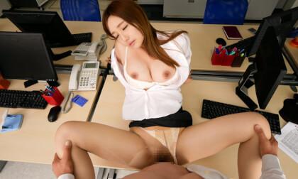 "VR Porn Sarina Kurokawa – ""Senpai, Won't You Touch me All Over?"""