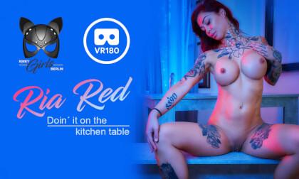 VR Porn Kitchen Table