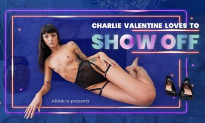VR Porn Charlie Loves To Show Off