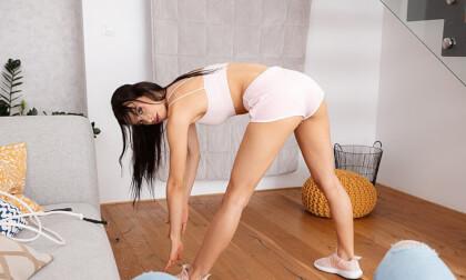 VR Porn Sweaty Workout