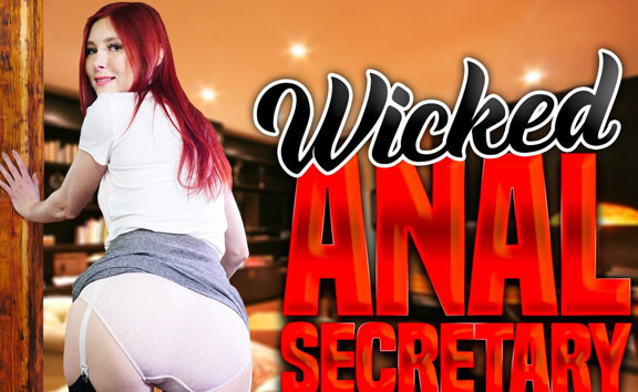 Wicked Anal Secretary Katy Gold