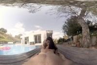 VR Porn The Pool Boy: Hot POV Riding