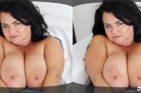 VR Porn Busty Reny Shows Her Gigantic Boobs
