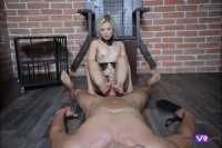 VR Porn Blonde Goddess In Chains Gets What She Deserves