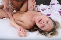 VR Porn Couple Bangs Hard in Bed