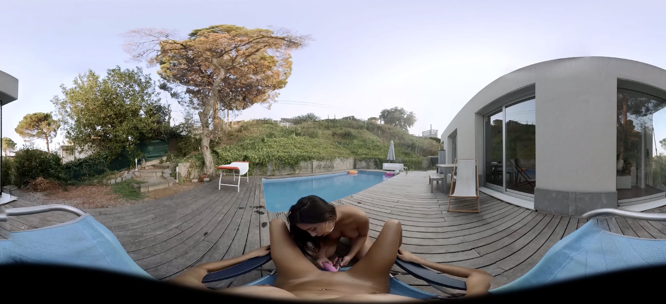 Julia De Lucia & Virtual Porn 360 | SexLikeReal