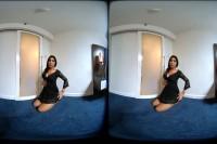 VR Porn Asian TeenIin Black Dress First Videoshoot