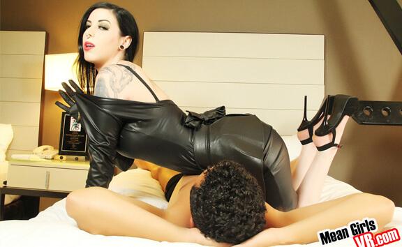 Leather tube porn