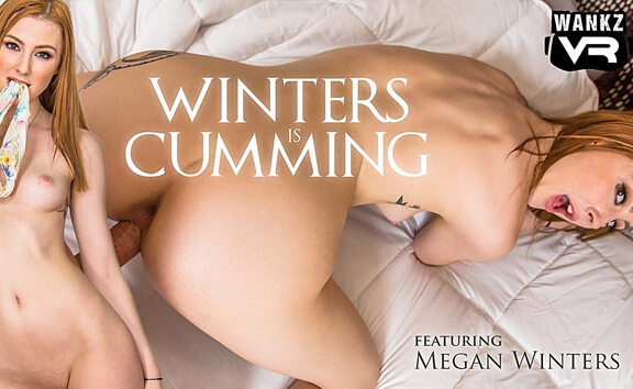 VR Porn Winters Is Cumming