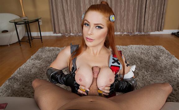 VR Porn Overwatch: Brigitte A XXX Parody