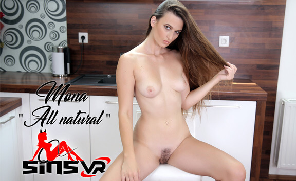 VR Porn Mona - All Natural