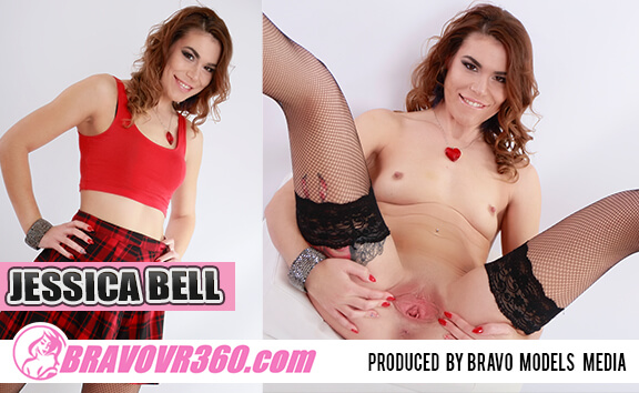 VR Porn Naughty Schoolgirl Jessica Bell Toying