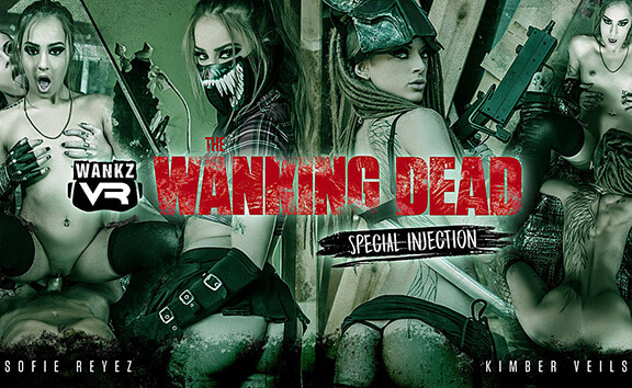 VR Porn The Wanking Dead: Special Injection
