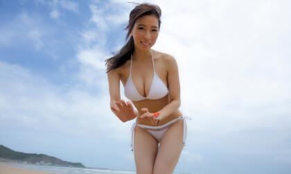 VR Porn Waka Ninomiya – Beach Nanpa Leads to Creampie Sex Part 1