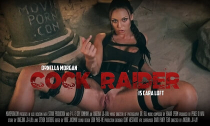 VR Porn Cara Loft: Cock Raider