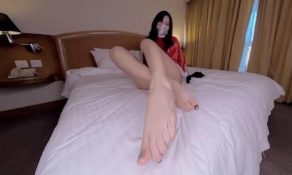 VR Porn Shan Xmas - Foot Fetish 1