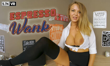 VR Porn Espresso Wank