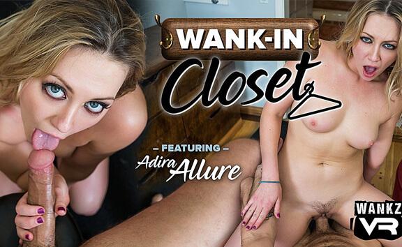 VR Porn Wank-In Closet