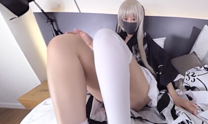 VR Porn Erika - Cosplay Footfetish 2