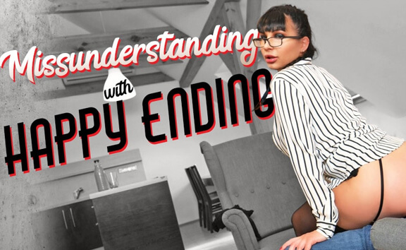 VR Porn Misunderstanding with Happy Ending