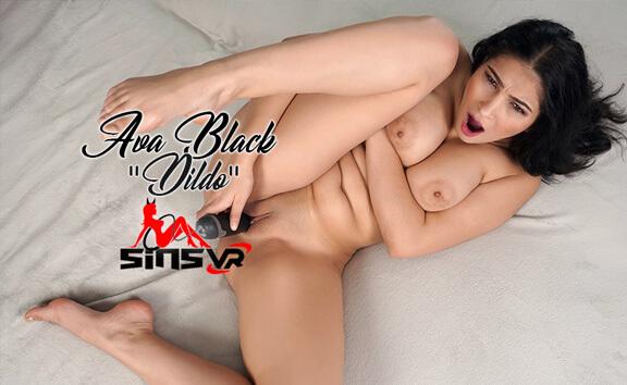 VR Porn Ava Black - Dildo