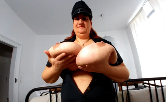 VR Porn Police Officer Sunni Shows Her Hefty Weapons
