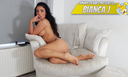 VR Porn Bianca J, British Girl Foot-Worship Special!