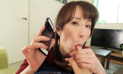 VR Porn Reiko Sawamura – Cheating Wife Calls Me For Sex Part 1
