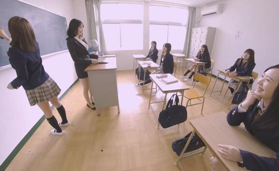 VR Porn Invisible Man Invades Girls School - Part 1