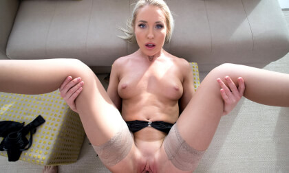 VR Porn Experience Angelika Grays tight wet pussy