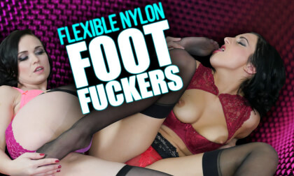 Flexible Nylon Foot Fuckers
