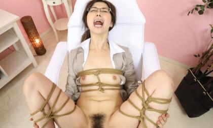 VR Porn Tsubaki Katou – Shibari Massage Salon for Perverted Teacher Part 2