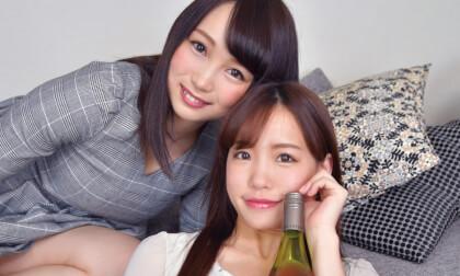 VR Porn Nao Kiritani & Yoshika Futaba – Missing Last Train for Threesome Sex Part 1