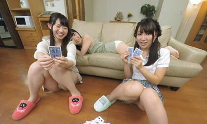 VR Porn Ren Ichinose, Ayane Haruna, Harura Mori, and Yuzuka Shirai – Living in a Share-house with Really Cute Girls Part 1