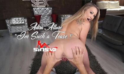 VR Porn Adira Allure - I'm Such a Tease!