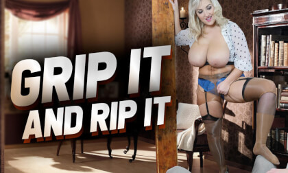 Grip It And Rip It with G cup Krystal Swift